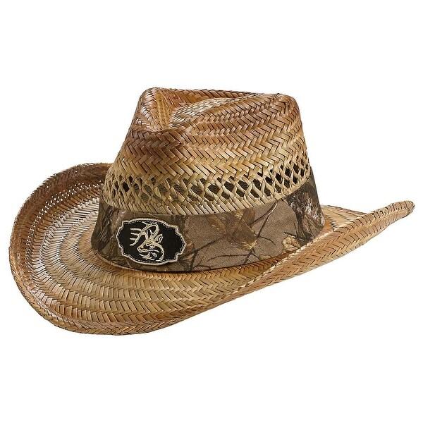 Legendary Whitetails Men's Realtree Camo Buckwild Cowboy Hat - Oak - One size