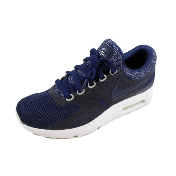 Shop Nike Men's Air Max Zero BR Midnight Navy 903892 400 im
