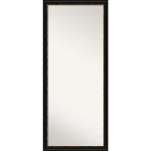 Manhattan Black Decorative Full Length Floor / Leaner Mirror - Manhattan Black
