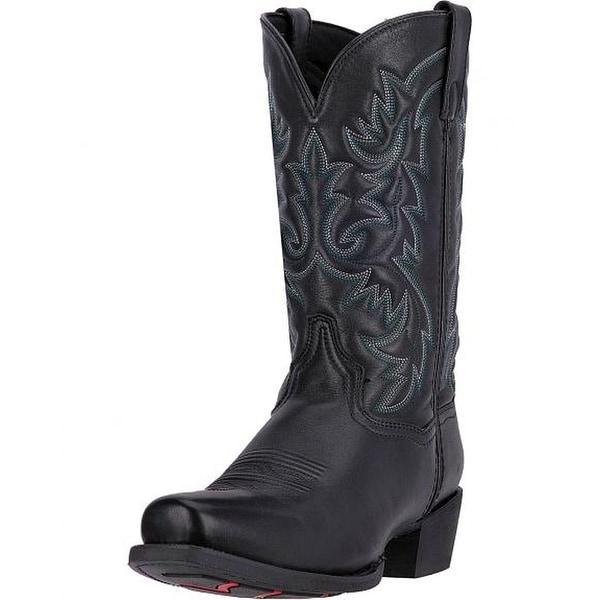 Laredo Western Boots Mens 12 Shaft Bryce Cowboy Heel CST Black
