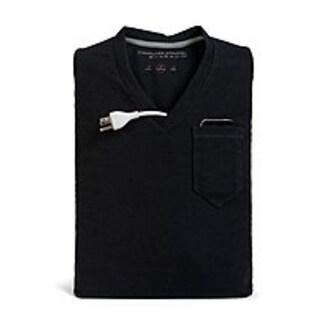 Computer Apparel CA-VN17-BK 17-inch Notebook Case - V-Neck Sleeve - Cotton - Black