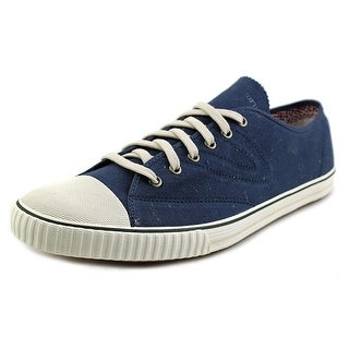 Tretorn Tournament Fleck Men Round Toe Canvas Blue Sneakers