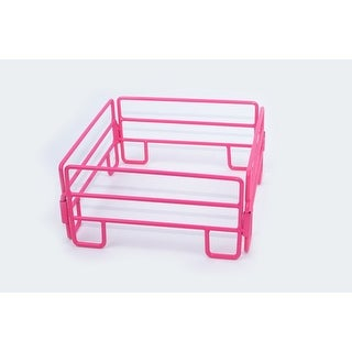 Little Buster Toy Heavy Duty Metal 4pc Cattle Panel Set Pink 500202