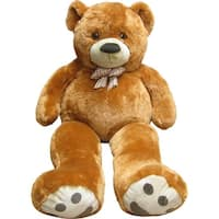 Kreative Kids Brown Giant Teddy Bear Stuffed Animal Toy 4 Feet