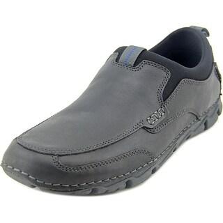 Rockport Rocsports Lt2 Moc Slip Round Toe Leather Walking Shoe