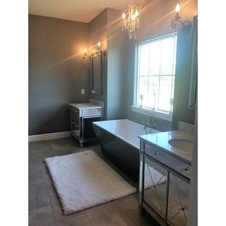 Harper Blvd Sutcliffe Marble Top Double-Door Bath Vanity Sink