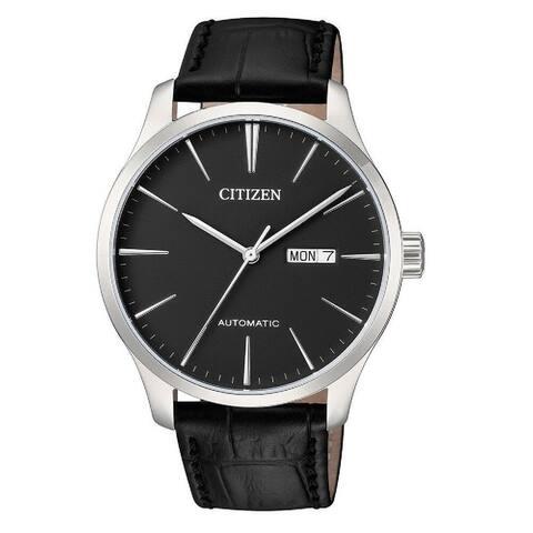 Citizen Men's NH8350-08E 'Classic' Black Leather Watch
