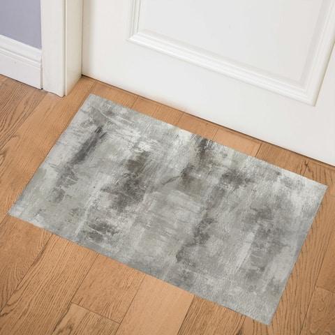 CLOUD SHADOWS GREY Indoor Floor Mat by Kavka Designs