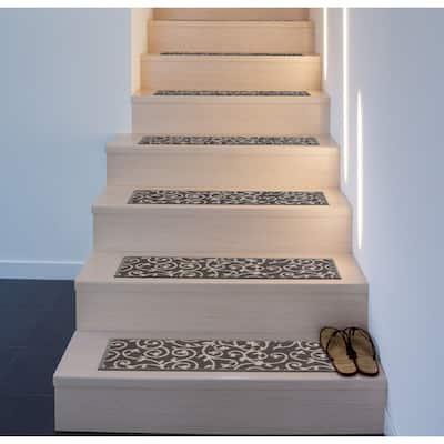 Modern Scroll Stair Treads