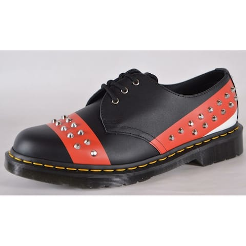 Dr. Doc Martens 1461 Hero Backhand Studded Colorblock Oxford Shoes