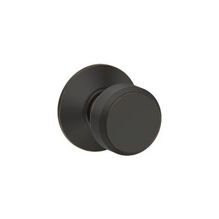 Schlage F10-BWE Bowery Passage Door Knob Set from the F-Series - N/A
