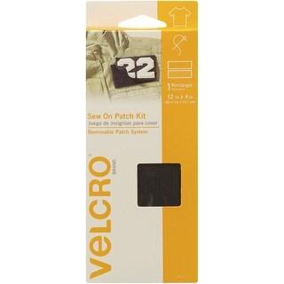 "Velcro(R) Brand Sew On Patch Kit Tape 4""X12""-Black"