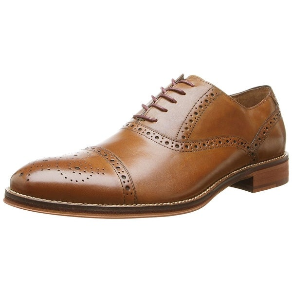 Johnston & Murphy Men's Conard Cap Oxford