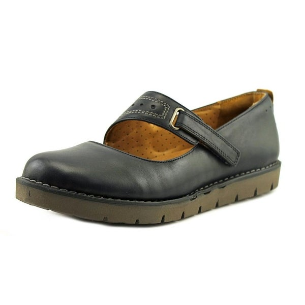 Clarks Narrative Un Briarcrest Women  Round Toe Leather Blue Mary Janes