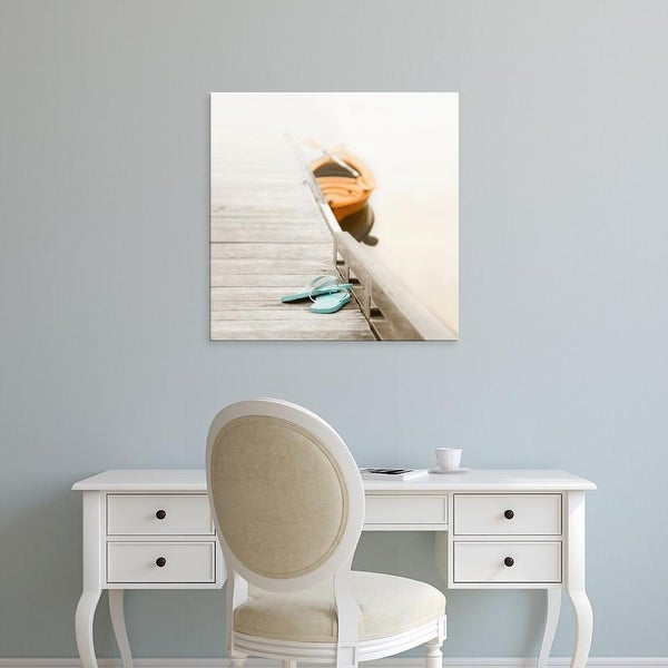 Easy Art Prints Nicholas Bell's 'Summer at the Lake' Premium Canvas Art