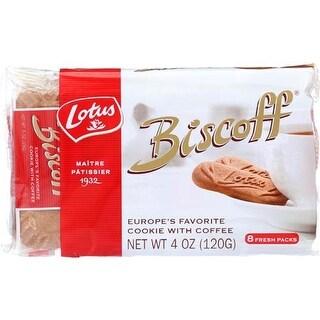 Biscoff - Vanilla Cookies Snack Pack ( 12 - 4 OZ)
