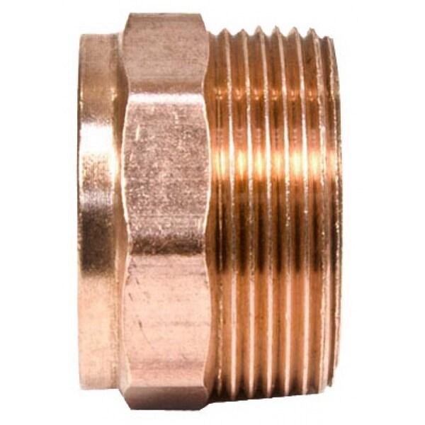 Mueller A67012 Streamline Wrot Copper DWV Male Adapter, 1-1/4