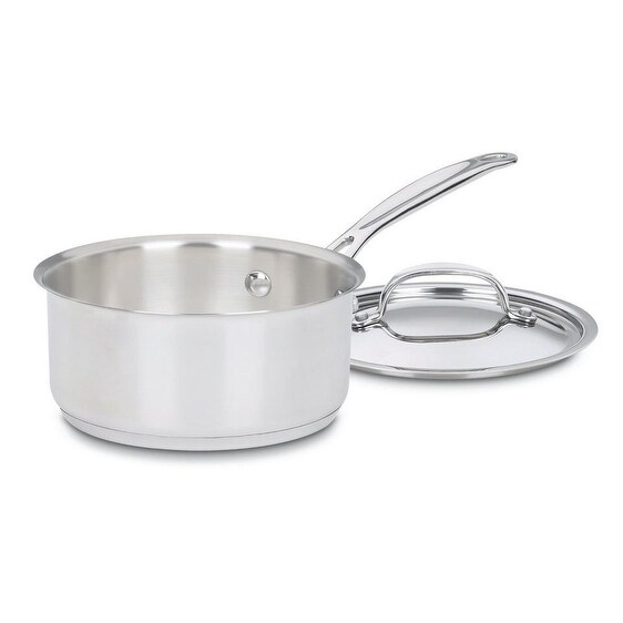 Cuisinart 719-16 Saucepan With Lid, Stainless Steel, 1.5 Quart