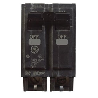 GE THQL2150 Double Pole Circuit Breaker, 50 Amp