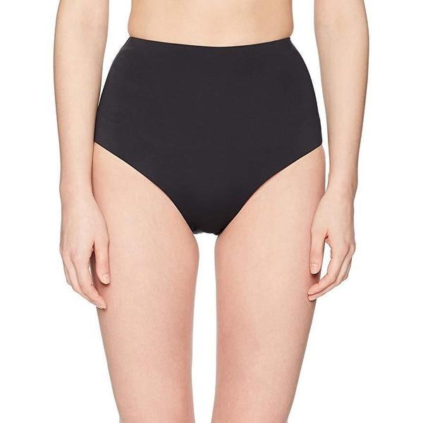 Laundry by Shelli Segal Women's Italian Luxe Solids High Waist Bikini Bottom SzS
