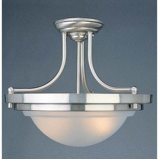 Volume Lighting V2172 2 Light Semi-Flush Ceiling Fixture