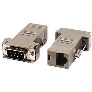 Raritan ASCSDB9M Raritan Null Modem Adapter - 1 x RJ-45 Female - 1 x DB-9 Male