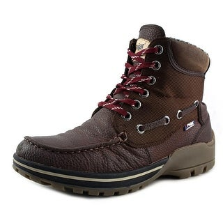 Pajar Barry Men Round Toe Leather Brown Snow Boot