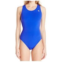 8c4e98df42b Shop TYR Blue Womens Size 18 One-Piece UPF 50+ Chlorine-Proof ...