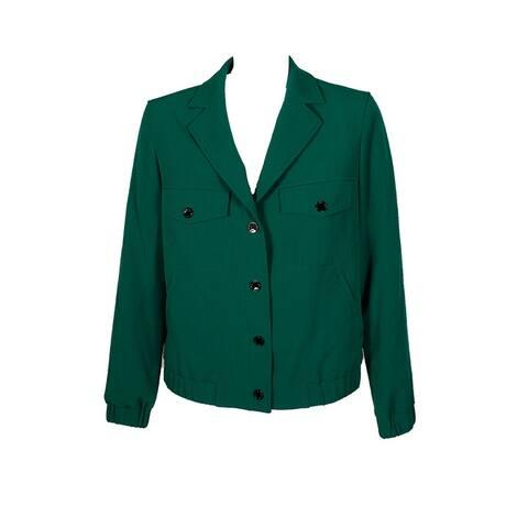 Anne Klein Vivid Green Drake Jacket - 6