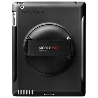 Mobile Edge ME-REV01 Mobile Edge Carrying Case for iPad - Black - Acrylonitrile Butadiene Styrene (ABS) - Hand Strap