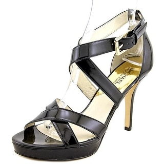 Michael Michael Kors Evie Women  Open Toe Patent Leather  Sandals