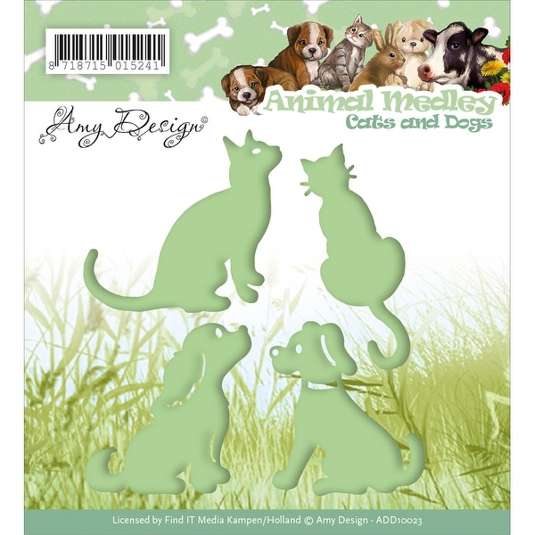 Find It Trading Amy Design Animal Medley Die