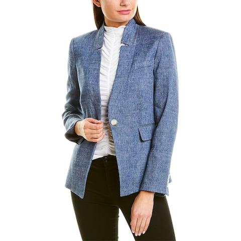 Veronica Beard Dickey Linen-Blend Jacket