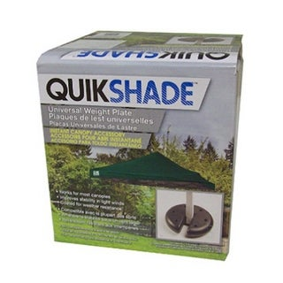 Quikshade 147497 Universal Canopy Weight Plates, 4-Pack