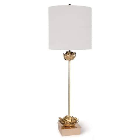 Regina Andrew 13-1285 One Light Table Lamp Adeline Gold - One Size