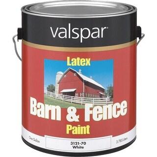 Valspar Ltx Flat Wht Barn Paint
