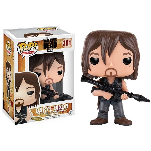 The Walking Dead POP Vinyl Figure: Daryl (Rocker Launcher)