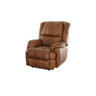 Ashanti Tokara RUSTICA Full Aniline Pull-Up Leather Incliner Chair - Acasia