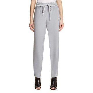 DKNY Womens Casual Pants Drawstring Flat Front