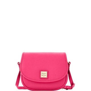 Dooney & Bourke Pebble Grain Leather Hallie (Introduced by Dooney & Bourke at $188 in Sep 2016) - Hot Pink
