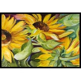 Carolines Treasures JMK1122JMAT Sunflowers Indoor & Outdoor Mat 24 x 36 in.