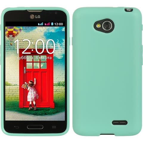 Rubberized TPU Gel Back Cover Case for LG L70 / LG Optimus Exceed 2