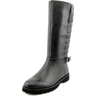 Easy Spirit Briano Women  Round Toe Leather  Mid Calf Boot