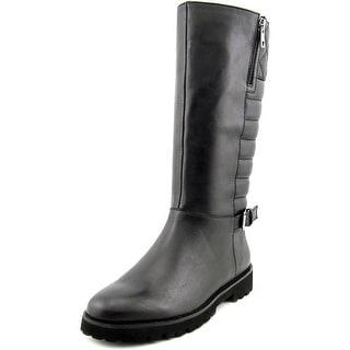 Easy Spirit Briano Women W Round Toe Leather Mid Calf Boot