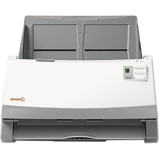 """Ambir DS960-AS Ambir ImageScan Pro 960u Sheetfed Scanner - 600 dpi Optical - 48-bit Color - 16-bit Grayscale - 60 - 40 - USB"""