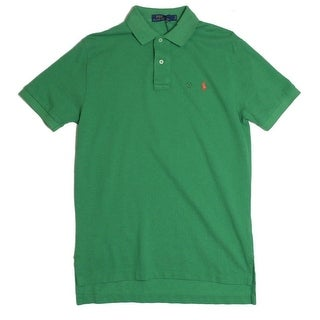 Polo Ralph Lauren NEW Green Mens Medium M Classic Fit Polo Rugby Shirt