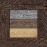 "Framed Wooden Shiplap - Jillibean Soup Mix The Media Framed Shiplap 10""X10"""