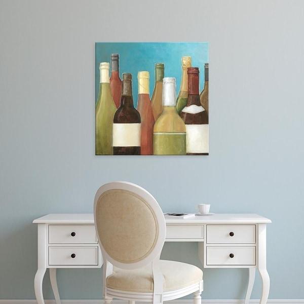 Easy Art Prints Megan Meagher's 'Wine Bottles I' Premium Canvas Art