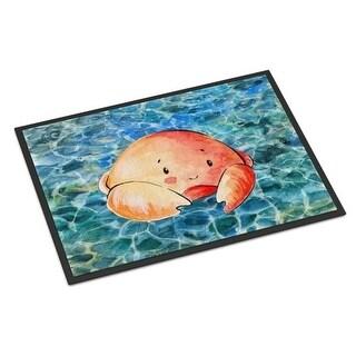 Carolines Treasures BB8523JMAT Crab Indoor Or Outdoor Mat - 24 x 36 in.