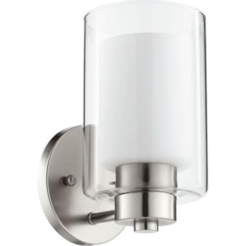 Quorum International 5582-1 Single Light Wall Sconce with Glass Shades